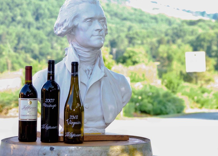 This President's Day, Raise a Glass from The Original Presidential Winery: Jefferson Vineyards