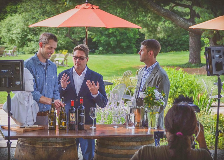 The Jet Set Visits Jefferson Vineyards